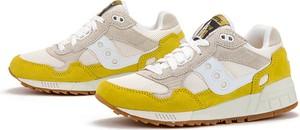 Buty sportowe Saucony z płaską podeszwą z zamszu