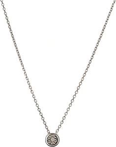 RABAT DODATKOWY Naszyjnik DIAMONDS białe złoto 585 z brylantem
