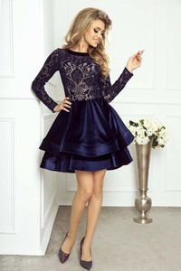 ad9e3118de sukienka z koronki rozkloszowana - stylowo i modnie z Allani