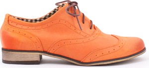 Zapato jazzówki - skóra naturalna - model 246 - kolor dynia