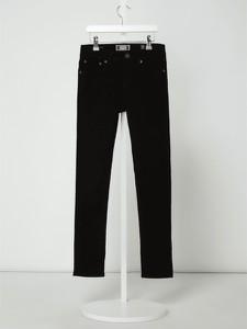 Czarne spodnie dziecięce Jack & Jones z jeansu