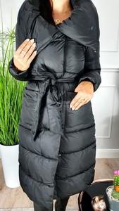 Czarny płaszcz Hypnotize Butik