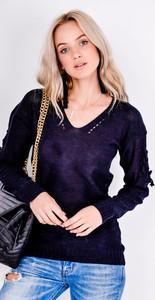 Fioletowy sweter Zoio