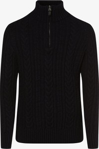 Czarny sweter Superdry z wełny w stylu casual