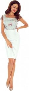 Sukienka Bergamo z szyfonu midi