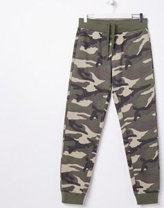 Spodnie sportowe Sinsay w militarnym stylu