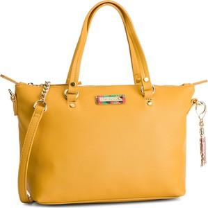 Żółta torebka Desigual na ramię