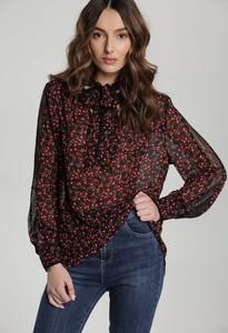 Czerwona bluzka Renee z długim rękawem
