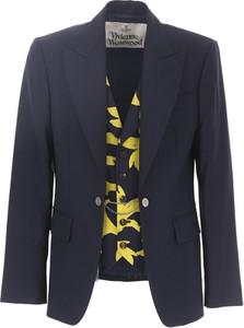 Czarny płaszcz męski Vivienne Westwood