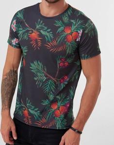 T-shirt Trendyol z nadrukiem z krótkim rękawem