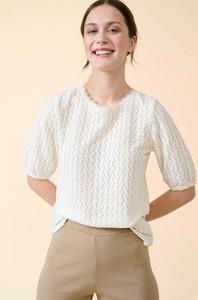 Bluzka ORSAY w stylu casual z okrągłym dekoltem