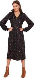 Czarna sukienka Lanti