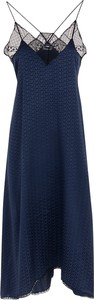 Granatowa sukienka Zadig & Voltaire na ramiączkach