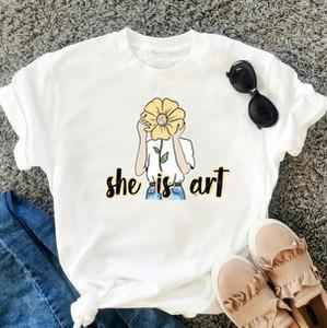 T-shirt Time For Fashion z okrągłym dekoltem z nadrukiem z krótkim rękawem