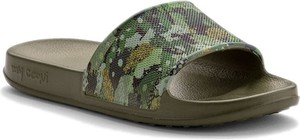 Zielone buty dziecięce letnie Coqui dla chłopców