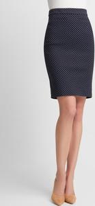 Granatowa spódnica QUIOSQUE mini