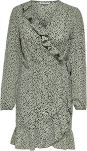 Sukienka Only z długim rękawem z dekoltem w kształcie litery v w stylu casual