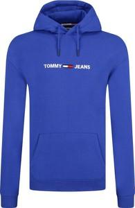 Niebieska bluza Tommy Jeans z bawełny