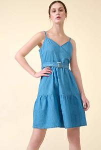 Sukienka ORSAY z jeansu na ramiączkach