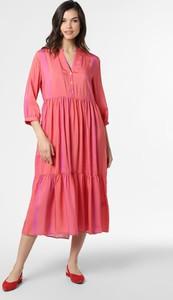 Sukienka Marie Lund z długim rękawem w stylu casual