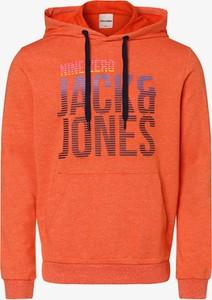 Pomarańczowa bluza Jack & Jones