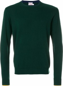 Zielony sweter Sun68 w stylu casual z okrągłym dekoltem