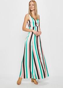 Sukienka Vila maxi bez rękawów w stylu casual