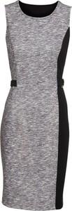 Sukienka bonprix BODYFLIRT bez rękawów z okrągłym dekoltem mini