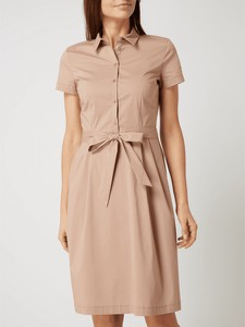 Sukienka Montego mini w stylu casual koszulowa
