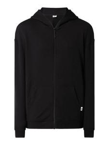 Czarna bluza Urban Classics z bawełny w stylu casual