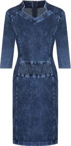 2add986522 Błękitna sukienka bonprix John Baner JEANSWEAR. 89złbonprix.pl. Sukienka  dżinsowa z falbaną • Sukienki z falbankami • Sukienki letnie. Sukienka  POLSKA