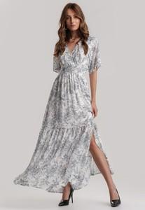 Sukienka Renee maxi z krótkim rękawem w stylu casual