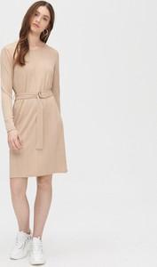 Sukienka Cropp z długim rękawem