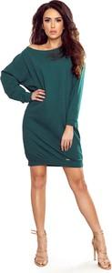 Sukienka Ptakmoda.com oversize z tkaniny mini