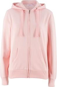 Różowa bluza bonprix bpc bonprix collection w młodzieżowym stylu