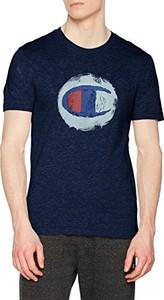 Granatowy t-shirt champion