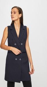 Granatowa kamizelka Answear w stylu casual