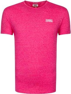 T-shirt Tommy Jeans w stylu casual z krótkim rękawem