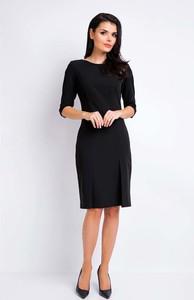 Czarna sukienka Awama mini