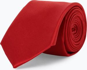 Czerwony krawat Mc Earl z jedwabiu