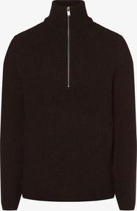 Brązowy sweter Drykorn z wełny