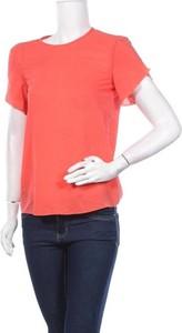 Różowa bluzka Strenesse z krótkim rękawem