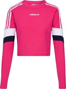 Bluzka Adidas Originals z dżerseju