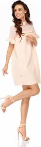 Sukienka Lemoniade oversize z krótkim rękawem mini