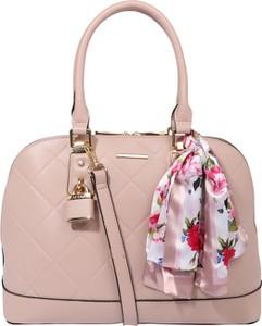 Różowa torebka Aldo ze skóry średnia