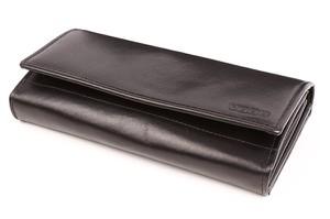 Czarny portfel VOOC
