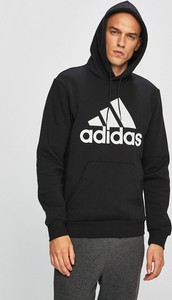 Czarna bluza Adidas Performance z dzianiny