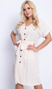 Sukienka Royalfashion.pl mini z dekoltem w kształcie litery v