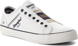 Tenisówki WRANGLER - Starry Slip On WM181033 White 51