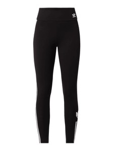 Czarne spodnie Adidas Originals z bawełny
